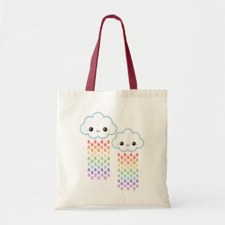 Happy Clouds Tote Bag