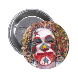 "Happy Clown ""Dubie Hummingbyrd"" Buttons"