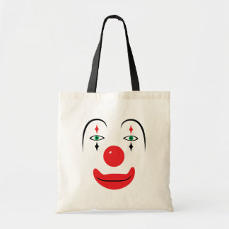 Happy Clown Face Tote Bag