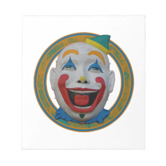 Happy Clown Notepad