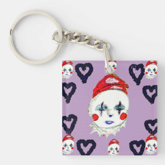 Happy Clown, Square keychain