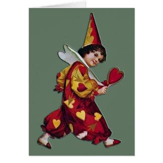 Happy Clown Valentine Card