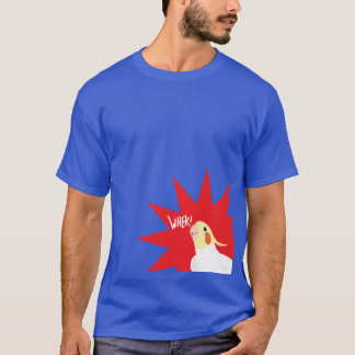Happy Cockatiel Birb T-Shirt