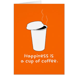 Happy Coffee Card