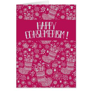 Happy Consumerism! Card