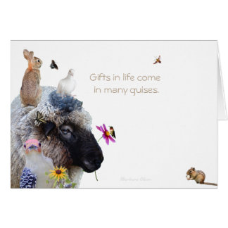 Happy Continuation Day: Gifts come in many guises Card
