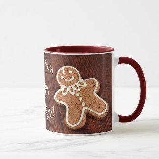 Happy Cookie Man Mug