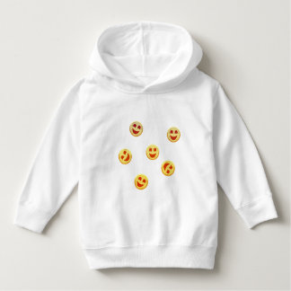 happy cookies faces hoodie