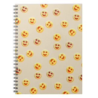 happy cookies faces notebooks