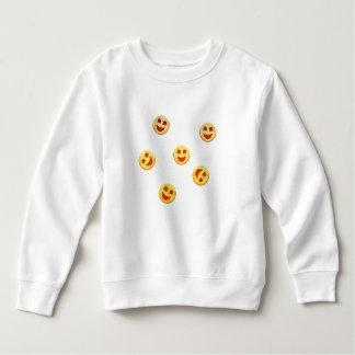 happy cookies faces sweatshirt