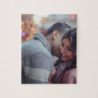 Happy couple jigsaw puzzle