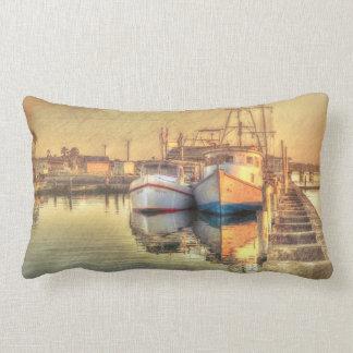 """""""Happy Couple"""" Lumbar Pillow"""
