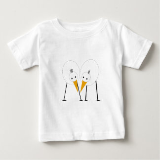 Happy couple of birds baby T-Shirt
