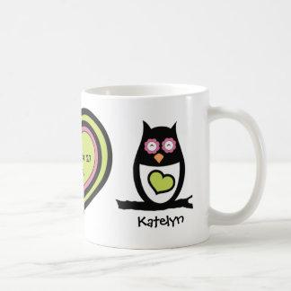 Happy Couple Owl Pair Mug