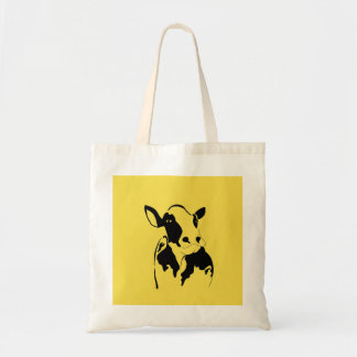 Happy Cow Grocery Bag