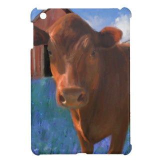 Happy Cow in West Marin iPad Mini Cover