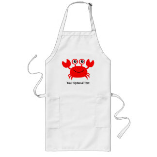 Happy Crab custom aprons