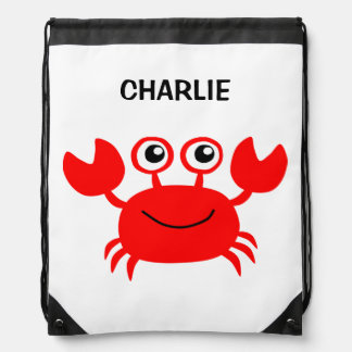 Happy Crab custom backpack