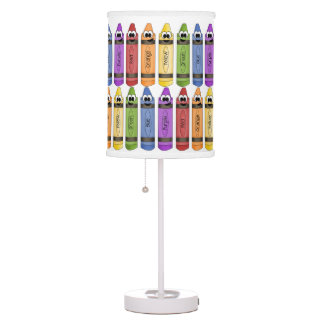 Happy Crayons Table Lamp