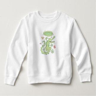 Happy crocodile sweatshirt