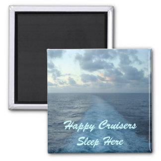 Happy Cruisers Door Marker Magnet