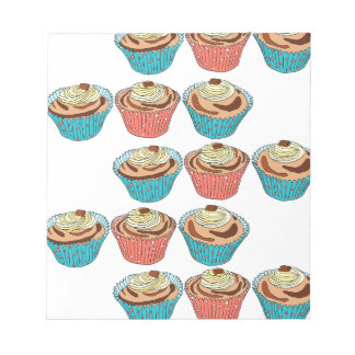Happy Cup Cakes Notepad