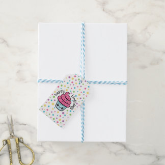 Happy Cupcake gift tags