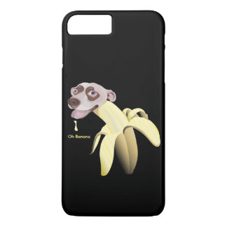 HAPPY&CUTE BANANA DOG-Oh Banana iPhone 7 Plus Case