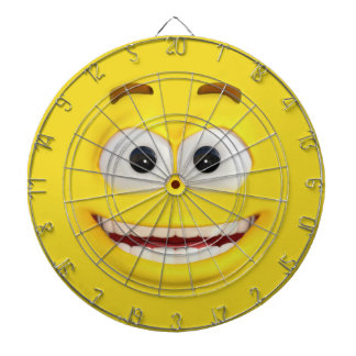 Happy #D Effect Emoji Dartboard