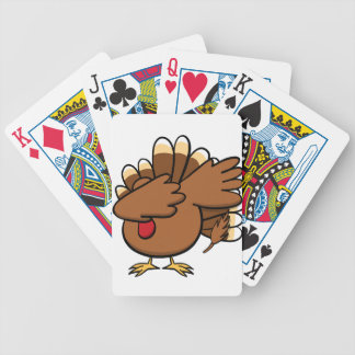 Happy Dabsgiving! Dabbing Turkey Bicycle Playing Cards