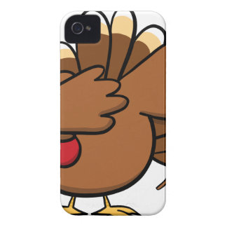 Happy Dabsgiving! Dabbing Turkey Case-Mate iPhone 4 Cases