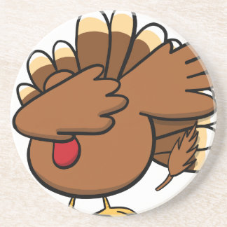 Happy Dabsgiving! Dabbing Turkey Coaster