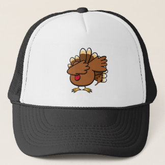 Happy Dabsgiving! Dabbing Turkey Trucker Hat