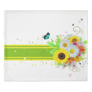 Happy Daisies Duvet Cover