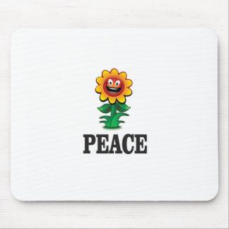 happy daisy of peace mouse pad