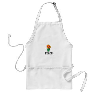happy daisy of peace standard apron