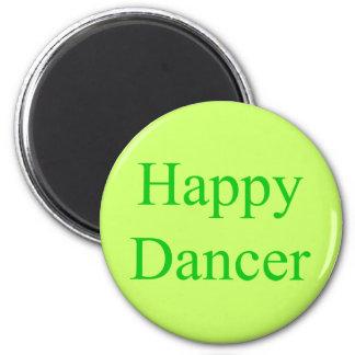 Happy Dancer green Magnet