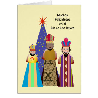 Happy Day of Kings Niño Card