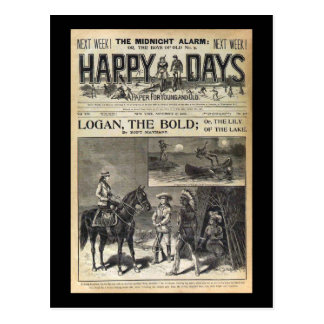 Happy Days A Paper for Young and Old 1905 Postcard