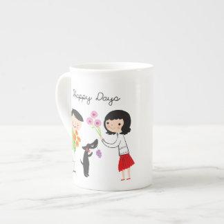 Happy Days (Coco & Us) bone china mug