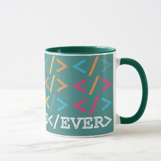 Happy Developer Fathers Day - Best Dad Ever Stamp Mug