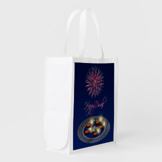 Happy Diwali Ganesha Rangoli - Reusable Bag