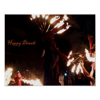 Happy Diwali Value Poster Paper (Matte)