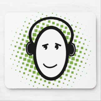 Happy DJ Guy Mouse Pad