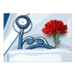 "Happy Doctors' Day Customizable Greeting Cards 5"" X 7"" Invitation Card"