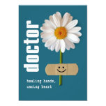 """Happy Doctors' Day Customizable Greeting Cards 5"""" X 7"""" Invitation Card"""