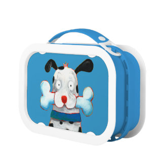 happy dog lunch box