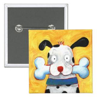 happy dog pins