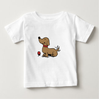 Happy dog wanting to play baby T-Shirt
