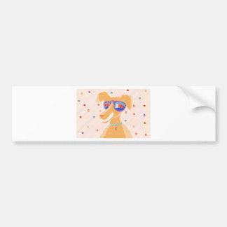 Happy Dog Year Bumper Sticker
